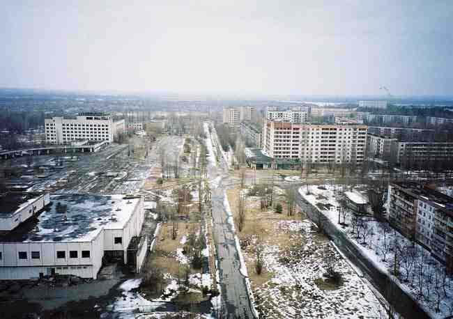 Die ukrainische Stadt Pripjat