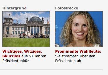 Nina Hoss auf spiegel.de