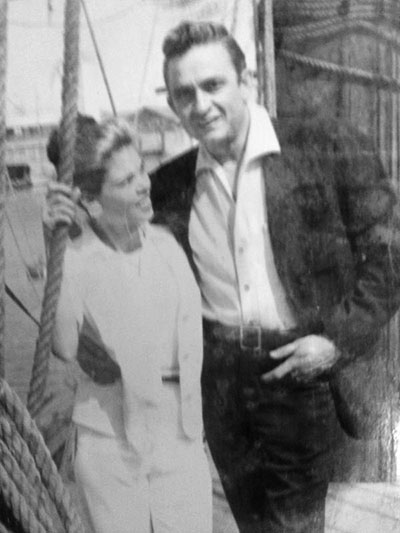 Johnny Cash, Vivian Liberto