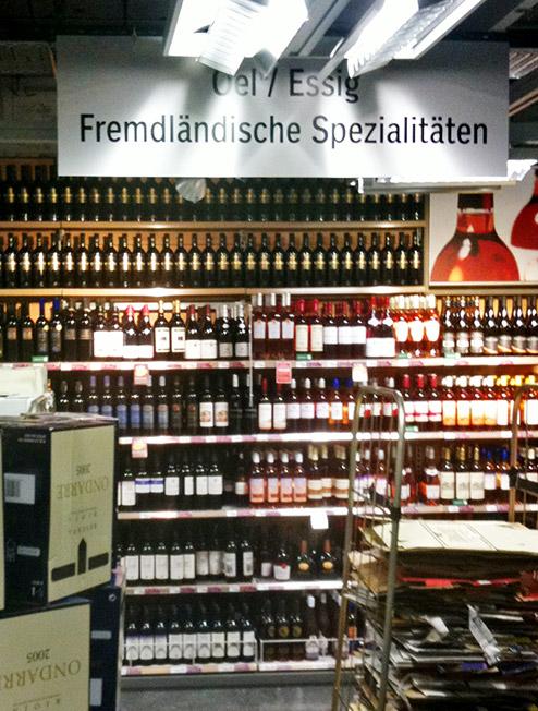 Supermarkt-Orientierung in Zürich
